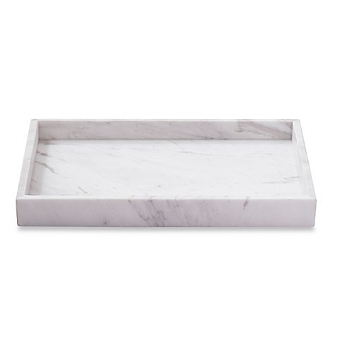 Camarillo Vanity Tray Crafted of Genuine Marble Design of Superb Piece of Durability and Refinement by Camarillo