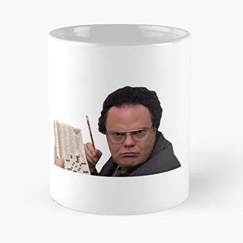 The Office Dwight Schrute John Krasinski Jim Halpert -funny Present For My Greatest Boss Male Or Female, Men, Women, Great Office Gift Mugs, Birthday, Leaving, Bold, Cup, 11 Oz