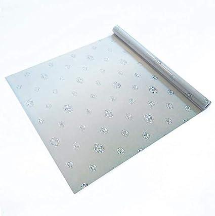 Lámina estática ventana diamante arco iris Ref VENETIA Vinilo decorativo estático privacidad, 99% protección solar UV. Antiácaros. Fácil colocación.Sin adhesivo.Reutilizable. Cristal, mampara 92x150cm: Amazon.es: Hogar