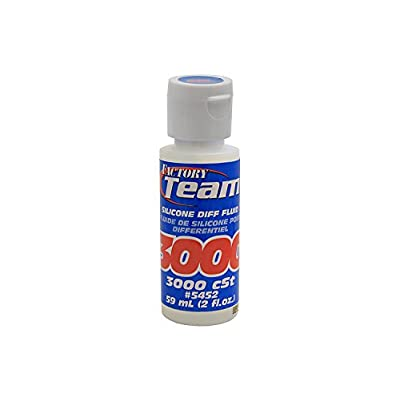 Team Associated 5452 Factory Team Silicone Differential Fluid, 3000CST: Toys & Games