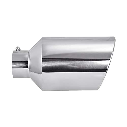 TOHUU Stainless Steel Diesel pick up Trucks Bolt-On Exhaust Tip 5