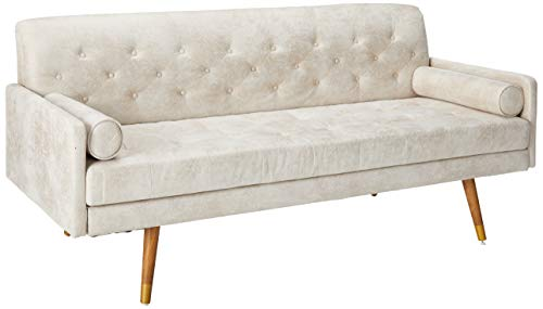 Amazon.com: Truda Mid Century Sofá moderno de microfibra con ...