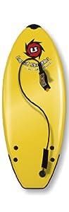 Liquid Shredder Element Softsurfboard, Yellow, 5-Feet 8-Inch