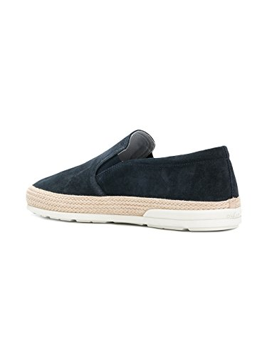 Hogan Lord Hxm3580ae50hg0u805 Slip In Pelle Blau Su Sneakers
