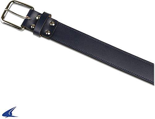Champro Genuine Bonded Leather Baseball Belt,Navy,Small