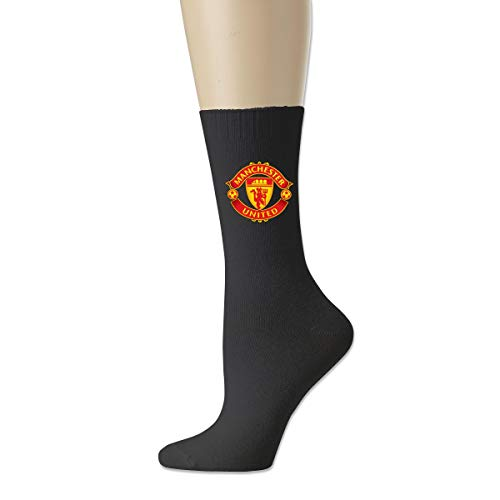 Manchester United All-season Cotton Crew Socks For Casual Work Athletic