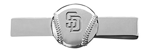 MLB San Diego Padres Engraved Tie Bar