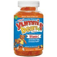 (Yummi Bears Vitamin C Supplement for Kids, 132 Gummy Bears )