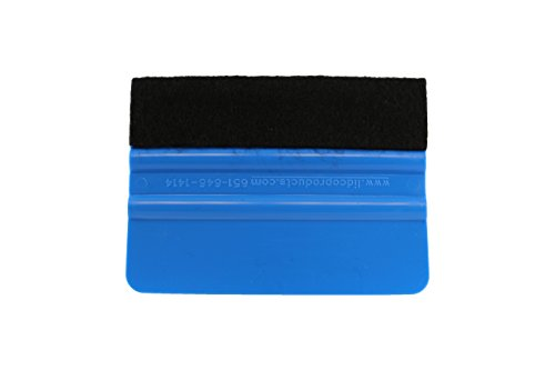 ABN Felt Edge Decal Squeegee 4 Inch