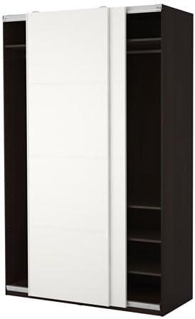 Ikea 18382.81723.1614 - Armario, Color Negro y marrón: Amazon.es: Juguetes y juegos