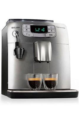 Saeco Cafetera de espresso con triturador HD8779/01 INTELIA ...
