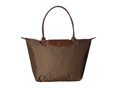 LONGCHAMP LE PLIAGES LARGE TOTE BAG KHAKI (Longchamp Large Tote Bag)