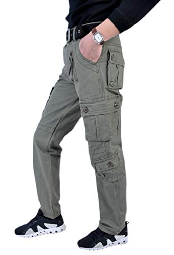 Jmwss QD Mens Camo Printed Army Military Style Combat Cargo Work Pants 1 37