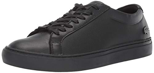 Lacoste Men's L.12 Sneaker Black, 12 Medium US