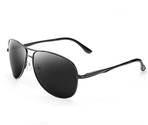 Acabado Ash de KOMNY Gafas Miopía de los Sol Degrees Espejo carnet Marea Gafas Producto Gafas polarizada 600 250 Banda Grados Ash la Conducir Hombres de luz Sapo Sol de 5qqwf8A