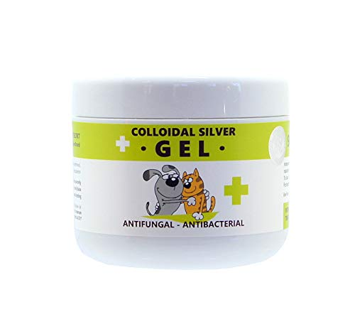 Nature's Greatest Secret Colloidal Silver Antibacterial Pets Skin Gel, 100 ml