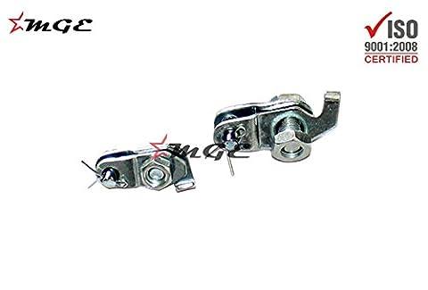 Vespa VBB VNC VLB Brake Cable Front & Rear Padle Link Clamp Set #TS035 @MGE - Vespa Cable