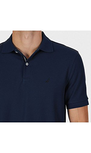 Anchor Uomo Nautica Polo Solid Navy Classic Deck Fit 5nFv8
