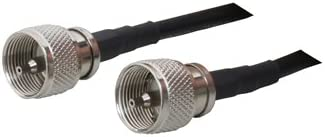 50-feet MPD Digital LMR-240 Coaxial Cable Ham or CB Radio Antenna Coax with PL-259 Connectors