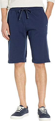Tommy Bahama Men's French Terry Solid Shorts Navy Heather ()