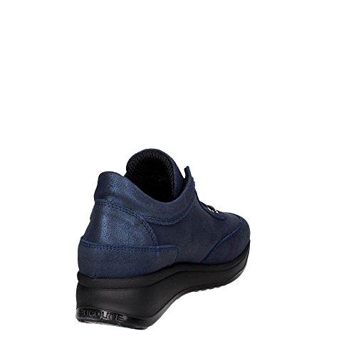 Bleu 1304 12 Femme Sneakers Petite Rucoline Agile By pqwazz