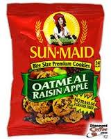 Sun-Maid Oatmeal Raisin Apple Cookies 2 Oz. (Pack of 60)