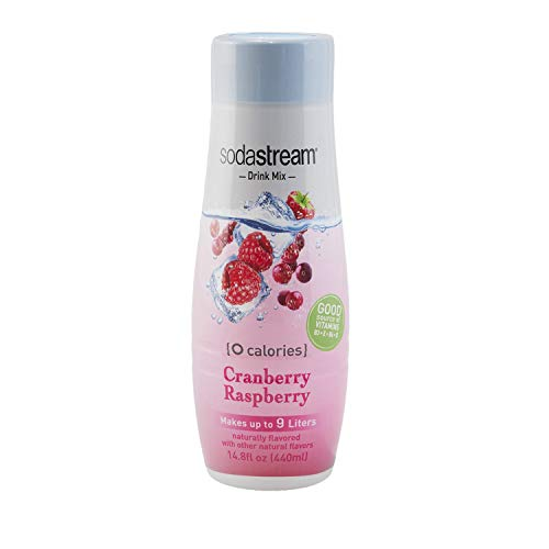 SodaStream Cranberry Raspberry Zero Calorie, 440ml 4-Pack