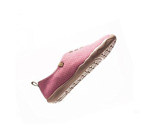 On Microfiber Comfort Moguer UIN Pink Shoe Women's Slip Svw87Oxfq