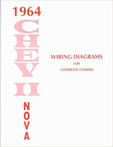 complete 1962 chevy ii & nova factory electrical wiring diagrams &  schematics guide, covering the complete chassis, power windows & seats,  a/c,