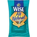 Wise All Natural Potato Chips, .75-Oz Bags (Pack of 72)