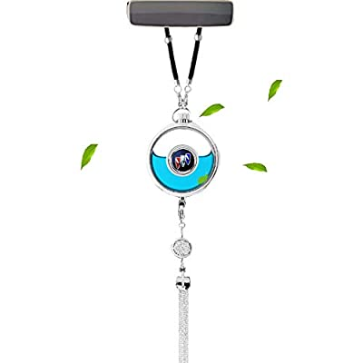 VILLSION Car Logo Air Freshener Fragrance Scent Rearview Mirror Pendant Perfume for Car with Gift Box: Automotive