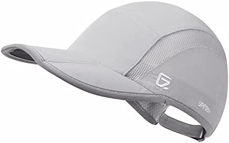 GADIEMKENSD Reflective Folding Outdoor Hat Unstructured Design UPF 50+ Sun Protection Sport Hats for Womens and Mens