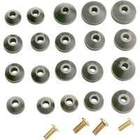 Plumb Pak PP805-22 Faucet Washer Beveled Assorted with Screws, by Plumb Pak