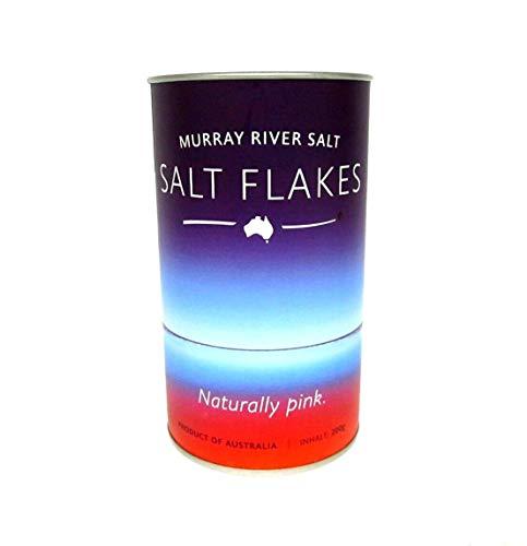 Murray River Salt – Salt Flakes – Pinke Salzflocken, Salz 1 x 200 g Dose