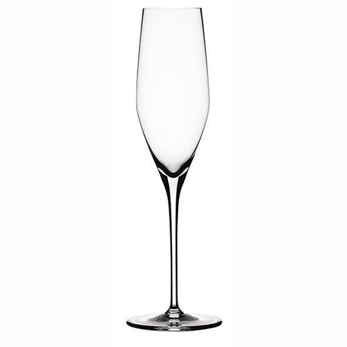 Spiegelau 4400187 Authentic Sparkling Wine Glasses (Set of 4), Clear