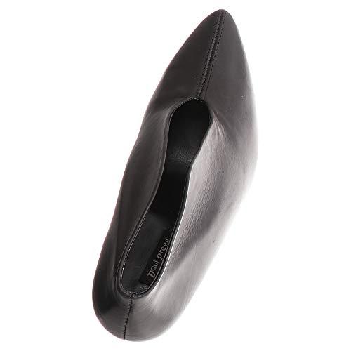 Paul para Vestir de Green Zapatos Piel de Lisa Negro Mujer 0tw6rq0