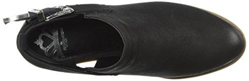 Fergalicious Women's Battle Ankle Boot Black Uo69le9GD