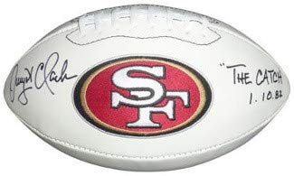 130d0cbc2 Dwight Clark San Francisco 49ers Autographed Items