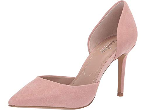 CHARLES BY CHARLES DAVID Women's Venture D'Orsay Pump Blush Suede 5 M US
