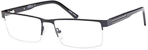 DALIX Mens Prescription Eyeglasses Frames 58-17-145-36 RXabl