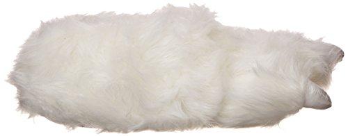 Wishpets Harige Luipaard Dierlijke Pantoffels (bruin / Bruin) Witte Ijsbeer