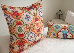 moroccan floor cushions. Luxury Moroccan Cotton Floor Cushions  TANIA Amazon co uk Kitchen