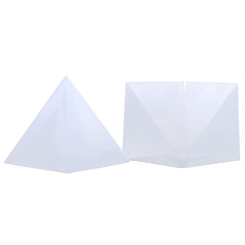 Pyramid Mould (Fityle 1 Set 15cm Large Pyramid Shape DIY Silicone Mould for Resin Casting Making Ornaments Tool)