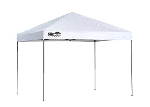 Quik Shade Expedition One Push 8 x 10 ft. Straight Leg Canopy, White