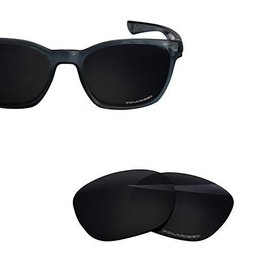 (BlazerBuck Anti-salt Polarized Replacement Lenses for Oakley Garage Rock - Black )