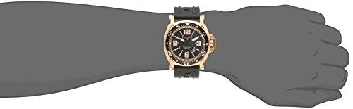 Swiss Legend Men's 11503-RG-01 Typhoon Analog Display Swiss Quartz Black Watch