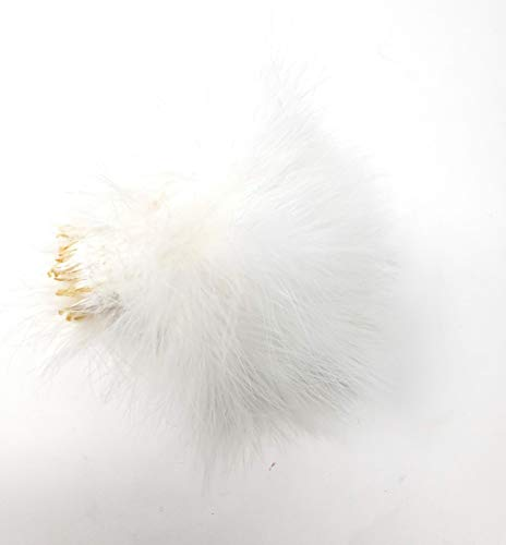 Creative Angler Marabou for Fly Tying/Tying Flies (White)