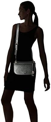 GUESS Devyn Shoulder Bag-Black