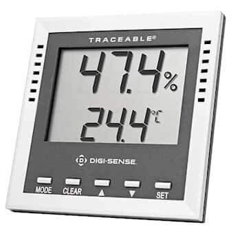 Cole-Parmer Digital Thermohygrometer with Dew Point and Wet-Bulb 90080-03
