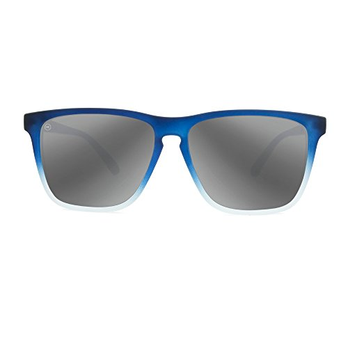 Non Lanes Polarized Sunglasses Knockaround Ice Smoke Fast Silver Blue Frosted 6ax7n5pwn